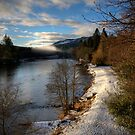 Winter in Dunkeld by GerryMac