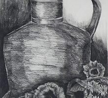 Coppo con papaveri by Margherita Bientinesi