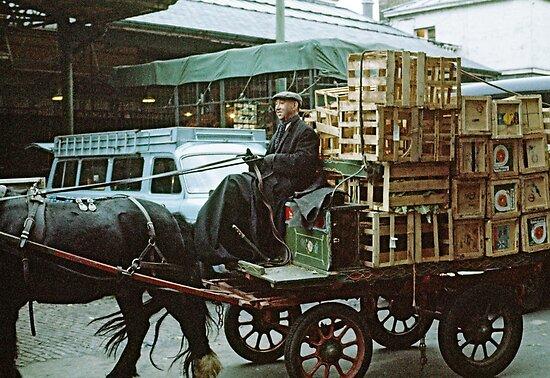 Covent Garden Market, London, 1973. by David A. L. Davies