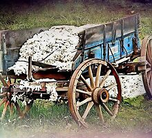 The Old Cotton Wagon by RickDavis