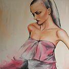 Pink Dress by Midori Furze