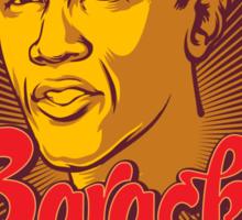 Barack is My Comrade Sticker
