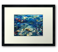 Natural gem Framed Print