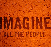 Imagine all the people  by cathymacca
