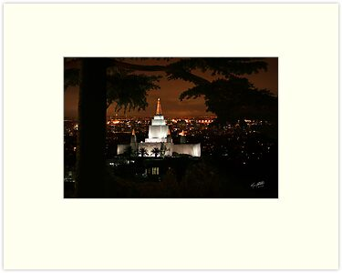 San Francisco Glow 20x30 by Ken Fortie