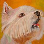 Westie Portrait by taiche