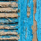 Old Blue Shutter III by physiognomic