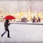 Antwerp in the Snow, Belgium by DaveTurner