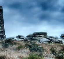 Snow At Basset Monument by chrisyfitzuk