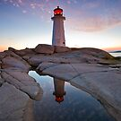 Peggy's Cove Lighthouse by NovaScOcean