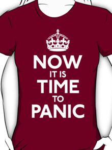 Now IT Is Time To Panic T-Shirt