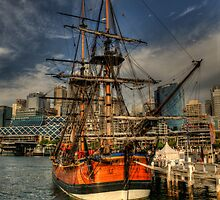 Endeavour - Darling Harbour, Sydney - The HDR Experience by Philip Johnson