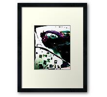 Colours And Fractures... Framed Print