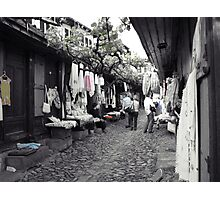 Shopping in Safranbolu. Photographic Print