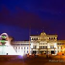 National Palace - Guatemala City Central Park by Miguel Avila