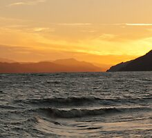 Loch Ness Sunset by mickeyb