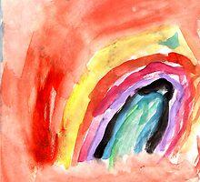 Rainbow Sunset by Isaiah Costello