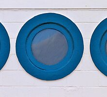 Porthole windows by Ali Brown