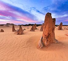 The Pinnacles, Nambung NP, WA by Sonia Masarova