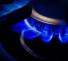 Igniting the Blue Flame by Cleber Photography Design