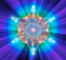 Sacred Geometry 18 by Endre