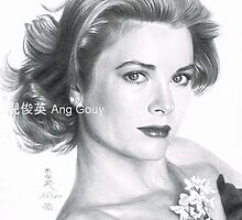 Grace Kelly by Angsterdam