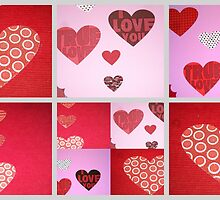 Valentine Sampler by Debbie Meyers
