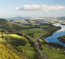 Perthshire View by Stuart Blance