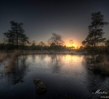 A Frozen Sunset by Martin Finlayson