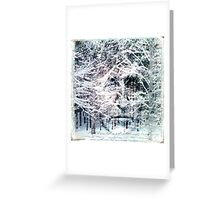 I Went to the Woods Greeting Card