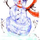 Scribbler Snowman by MaeBelle