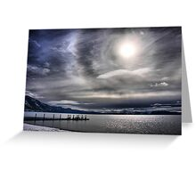 A Winter Sky Greeting Card
