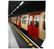 The Blur of the Underground. Poster