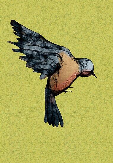Scribbler Bird by Sarah  Mac