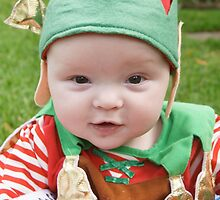 Archie as an Elf! by Belinda Fletcher