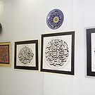 My Islamic Arts Exhibition in Multan Arts Council,2008 by HAMID IQBAL KHAN