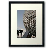 Walt Disney World Epcot Spaceship Earth Framed Print