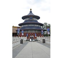 Walt Disney World Epcot China Pavillion Photographic Print