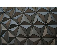 Walt Disney World Epcot Spaceship Earth Photographic Print