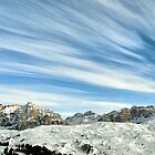 Wideangle dolomites cloudy landscape  by Francesco Malpensi