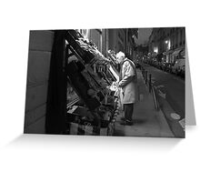 Paris - At the grocery. Greeting Card