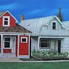 Row Houses- Red House by Christopher Ripley