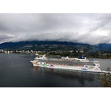 NCL Norwegian Pearl Photographic Print