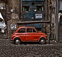 Fiat 500 in Naples, Italy by CGPerry