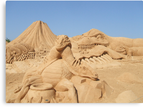 Sand Sculpture by Meladana