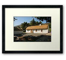 Glencolmcille cottage Framed Print