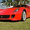 Red Ferrari 599 at Rostrevor College by Ferenghi