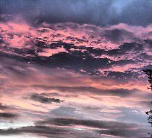 Sunrise over Bradford by Sandra Cockayne