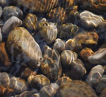 Pebbles in Bolton Abbey by AJWPhotography