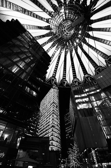 Berlin - Sony Centre by Rory Garforth